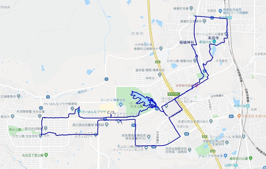 1911-00-精華町-軌跡