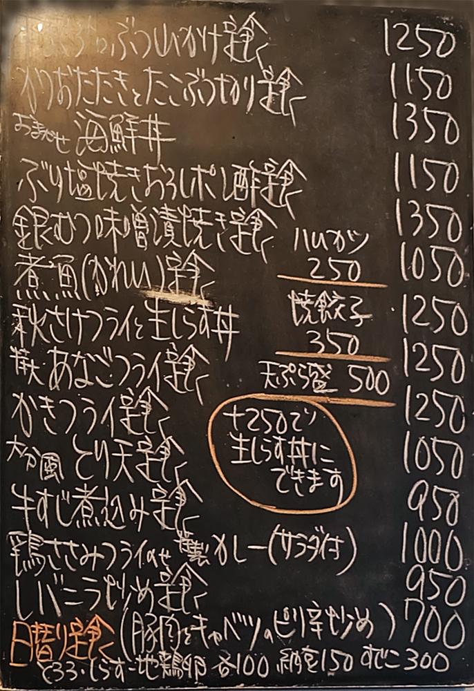 特大穴子フライ定食 @ 駒場東大前 菱田屋