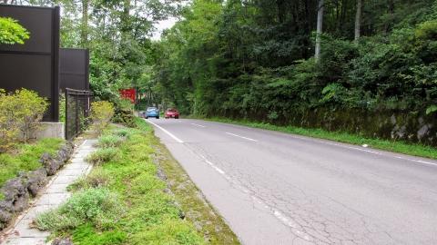 つまごいパノラマラインを抜けて県道235号、北軽井沢に入るとそこそこ車が多く気を付けて走ります。…