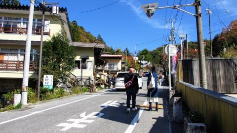 榛名神社への参道。見るだけで行きませんでした。またいつかの機会に…。