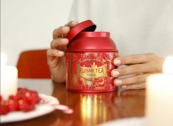 パリのティーメゾン【KUSMI TEA】のホリデーシーズン限定商品が素敵過ぎる