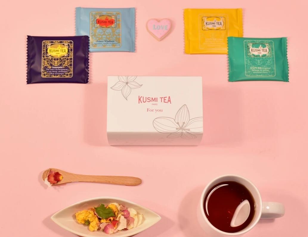 日本限定!!パリの名店【クスミティー(KUSMI TEA)】ミニギフトボックスはホワイトデーにぴったりです