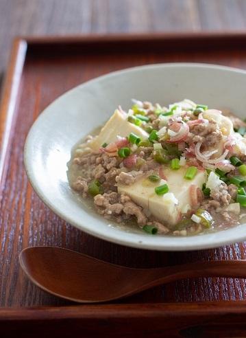B和風麻婆豆腐2