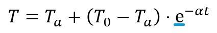 ニュートンの冷却則´
