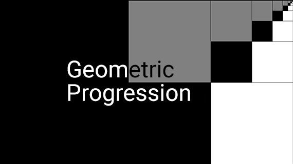 Geometric progression 1