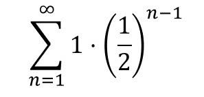 無限等比級数 3