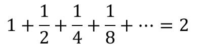 無限等比級数 4