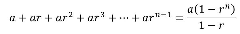 無限等比級数 8