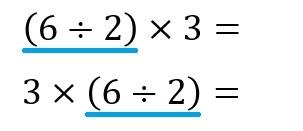 6÷2×3 4