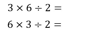 6÷2×3 11