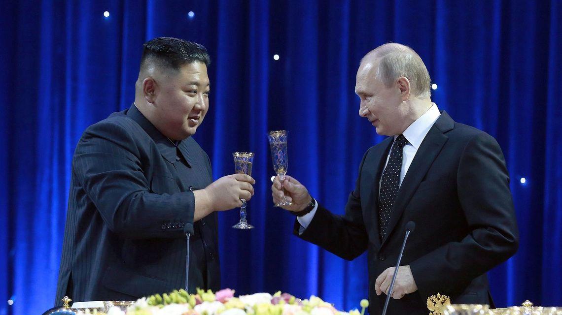 金正恩 プーチン