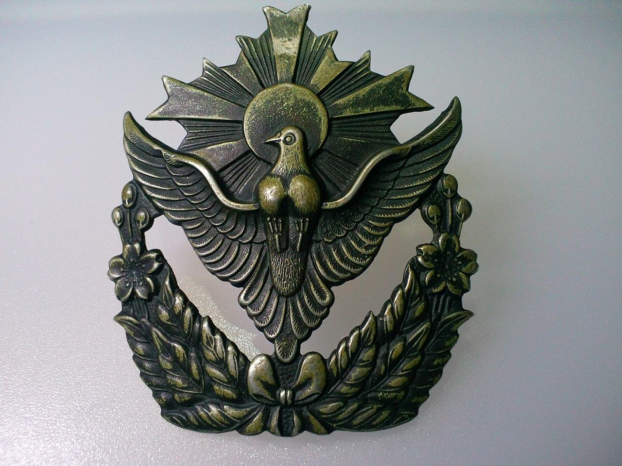 警察予備隊帽章