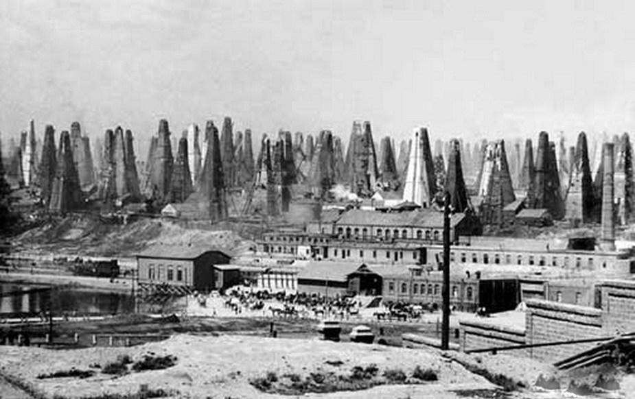 1800年代のバクー油田