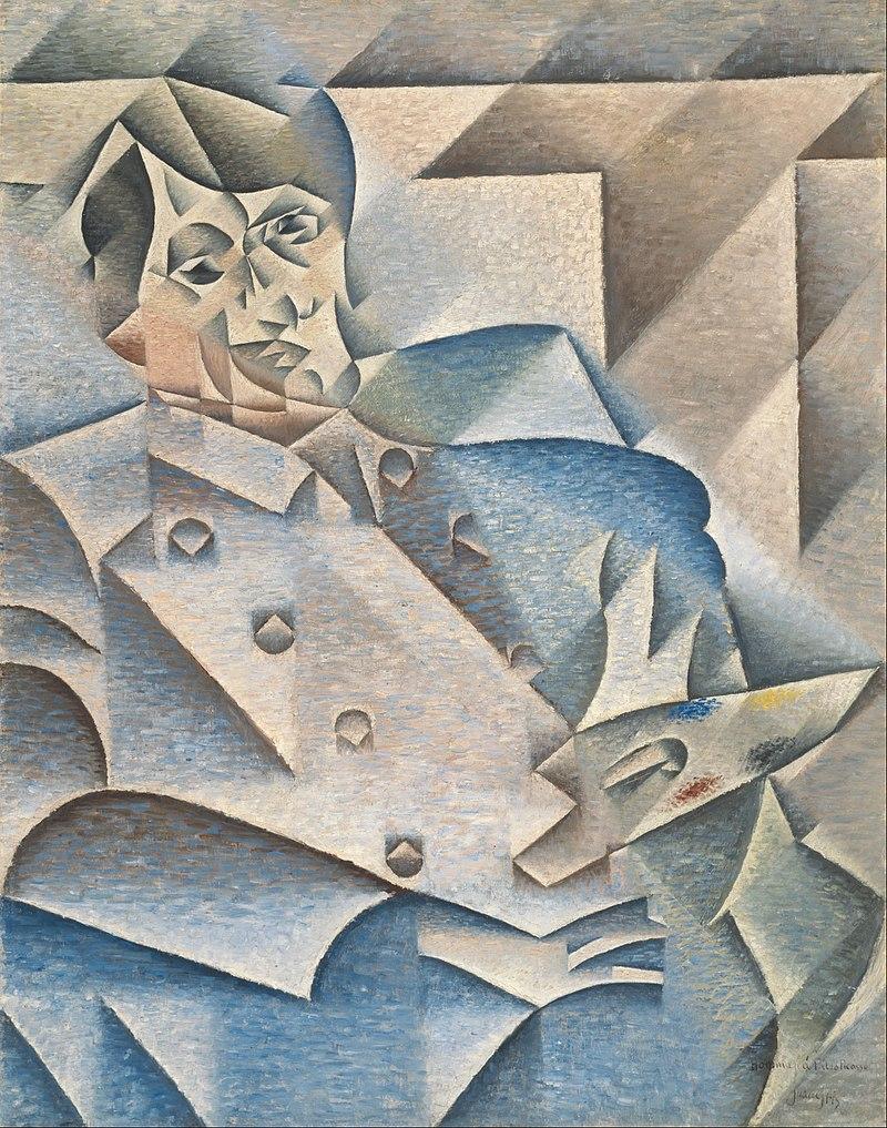『ピカソの肖像』フアン・グリス