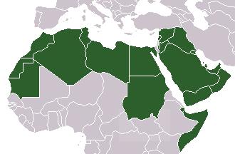 アラブ諸国とされる主な国々