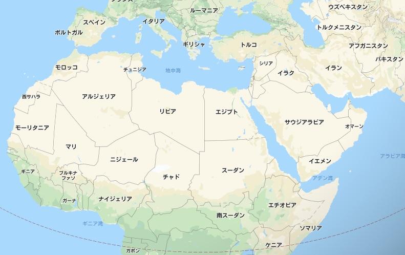 アラブ周辺
