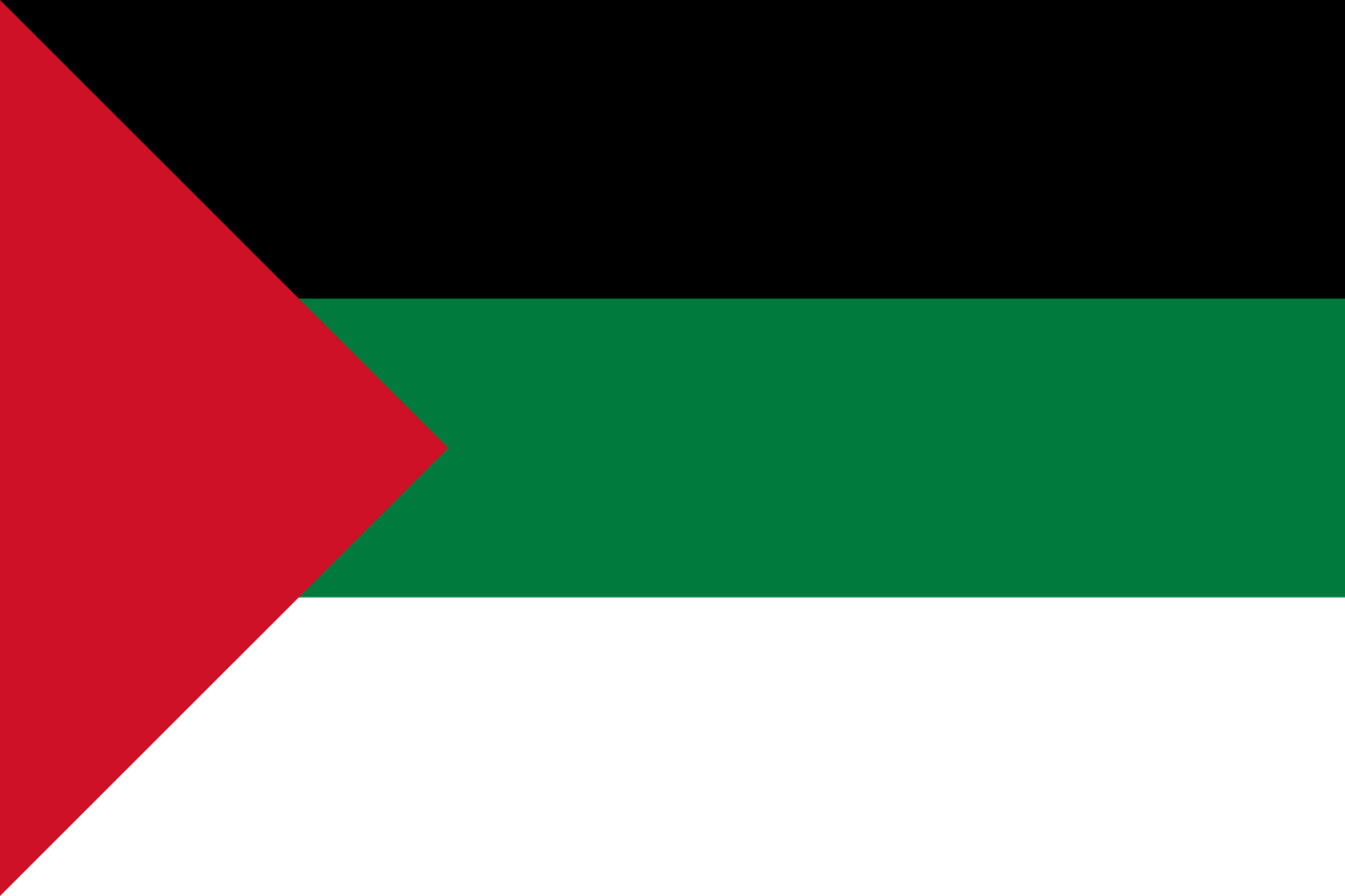 アラブ反乱旗
