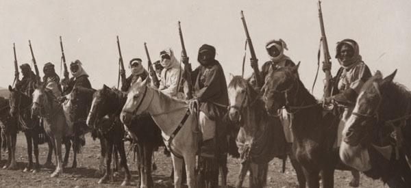 ヨルダンとアラビアの反乱騎兵(1918年)
