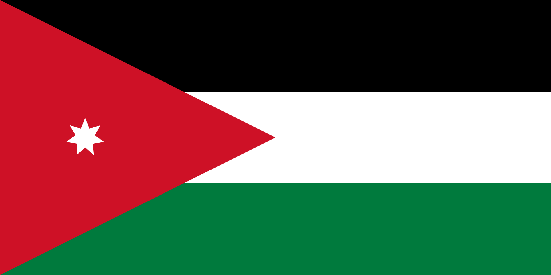 ヨルダン・ハシミテ王国の国旗