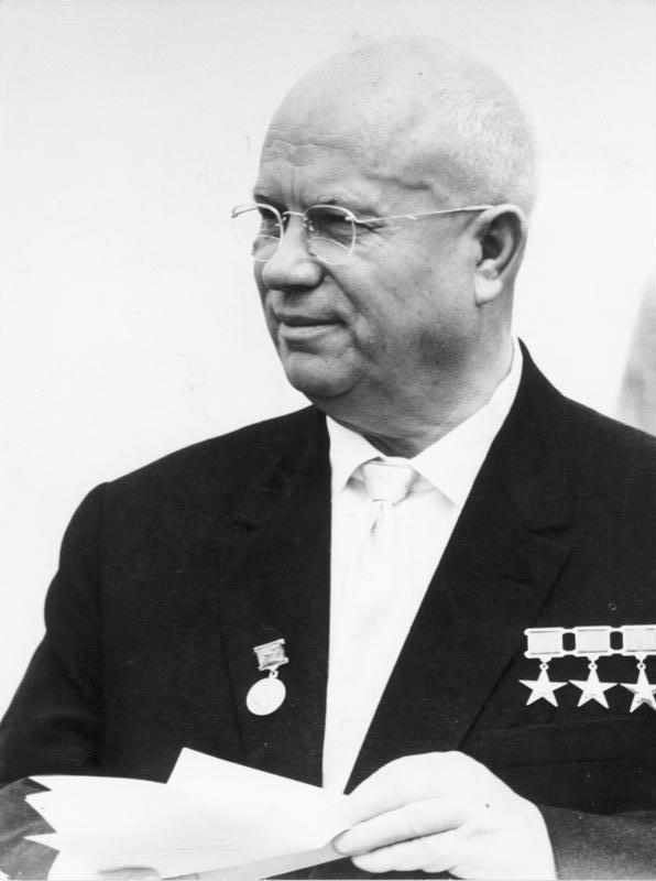ニキータ・セルゲーエヴィチ・フルシチョフ 1963年