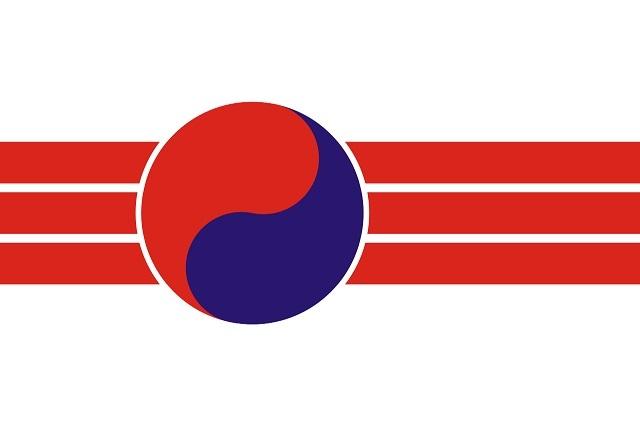 朝鮮人民共和国国旗