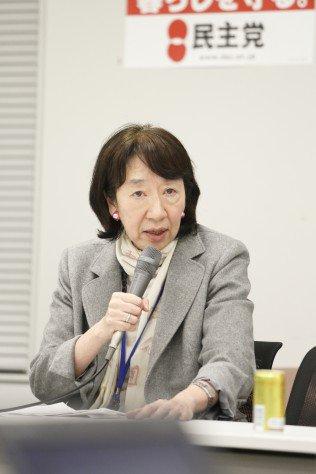 松井やより(フェミニスト、元朝日新聞編集委員。本名は松井耶依。)