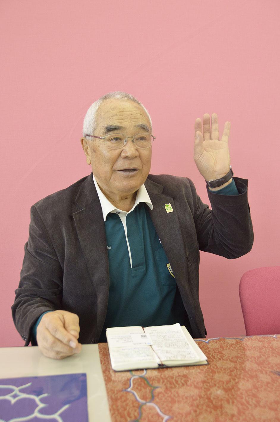 加藤忠(北海道アイヌ協会理事長)