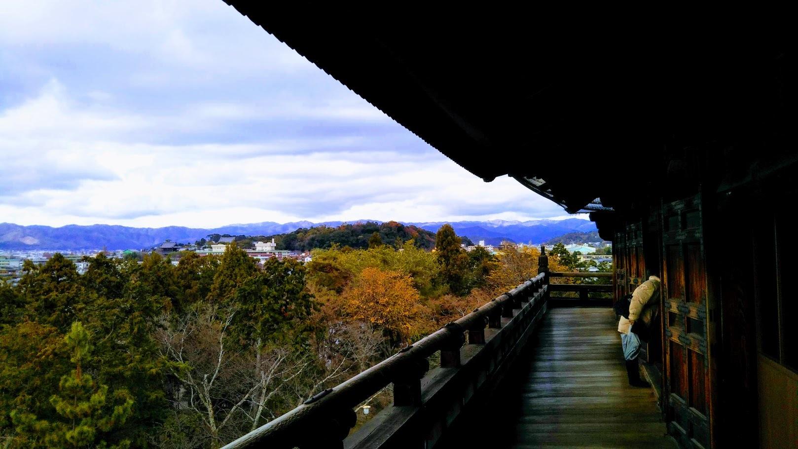山門からの景色1