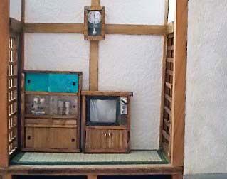 和室にテレビを置きました2