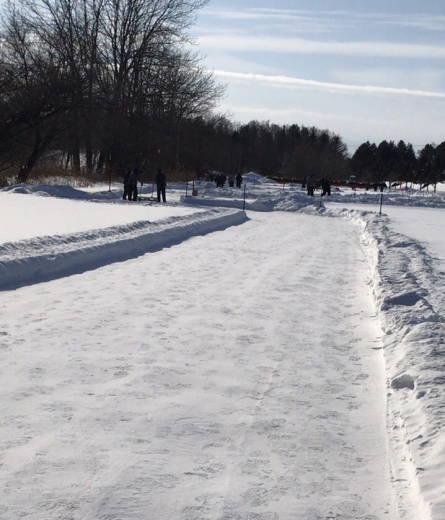 帯広の森雪中パークゴルフ場 (2)