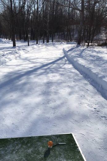 帯広の森雪中パークゴルフ場 (3)