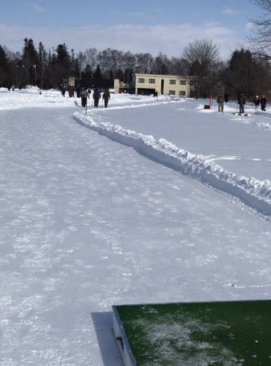 帯広の森雪中パークゴルフ場 (5)