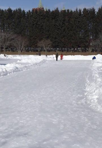 札内ガーデン温泉PG-雪上特設コース (3)