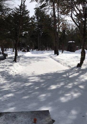 札内ガーデン温泉PG-雪上特設コース (8)