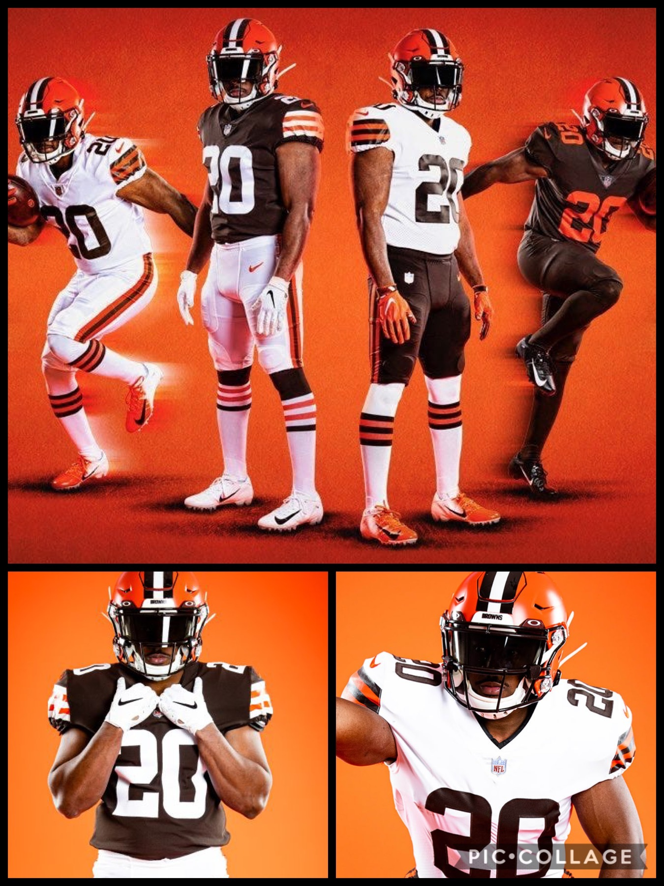 NFL2020新ユニフォーム クリーブランド ブラウンズ