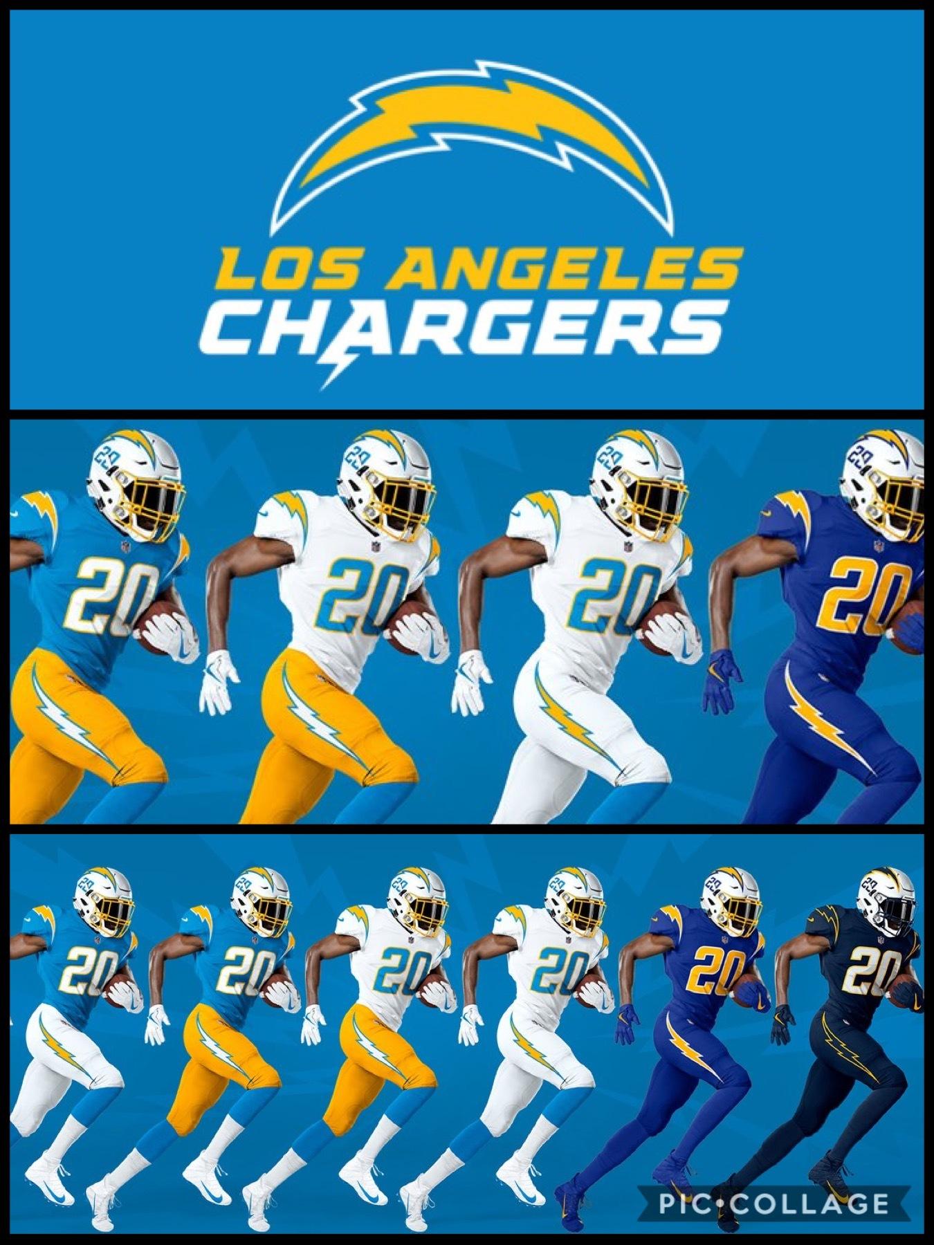 NFL2020新ユニフォーム ロスアンゼルス チャージャース