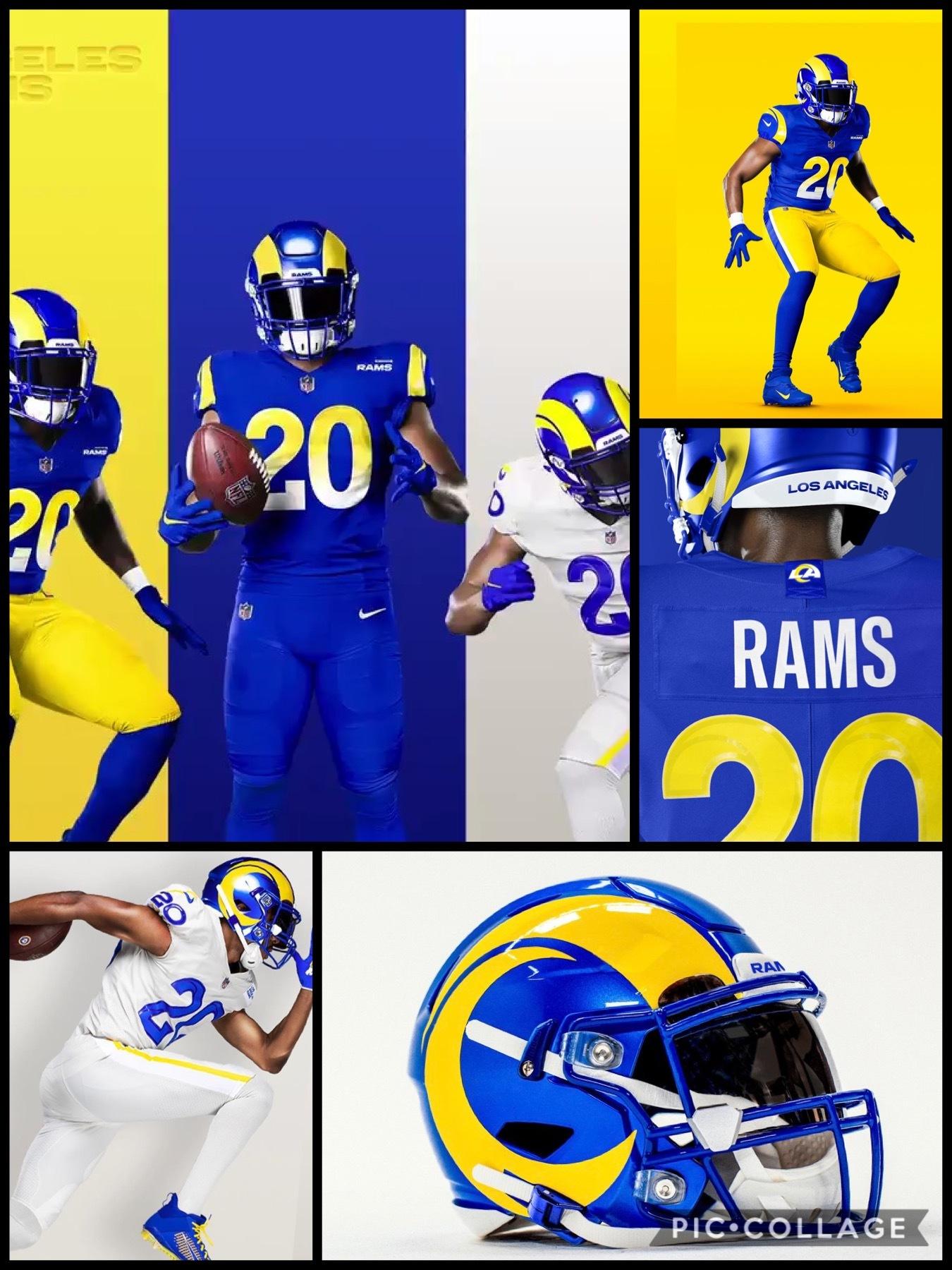 NFL2020新ユニフォーム ロスアンゼルス ラムズ