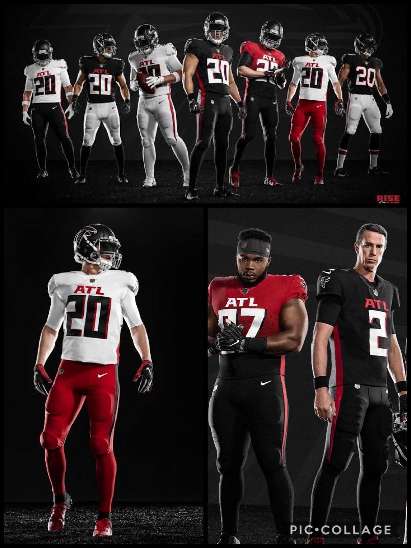 NFL2020新ユニフォーム アトランタ ファルコンズ