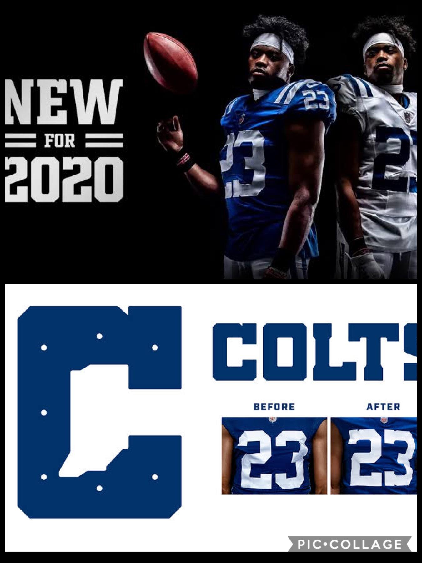 NFL2020新ユニフォーム インディアナポリス コルツ