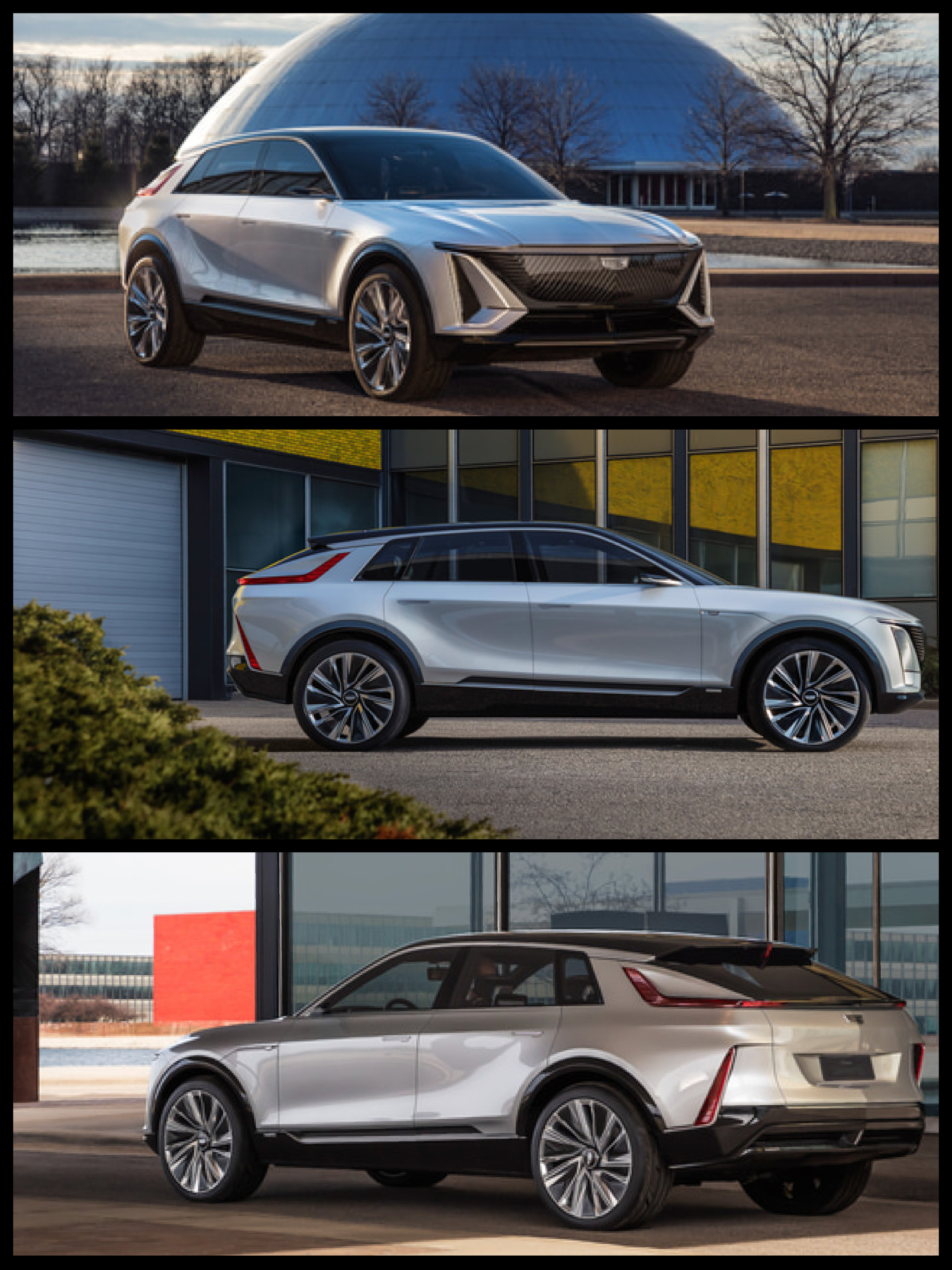 GM キャデラック EV「リリック」Lyriq