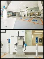 出光 デルタ電子 複合型EV充電施設「Park&Charge」