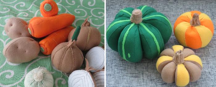 移動用イモとかぼちゃ