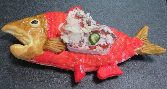 20200301紅鮭 鮭丸くん