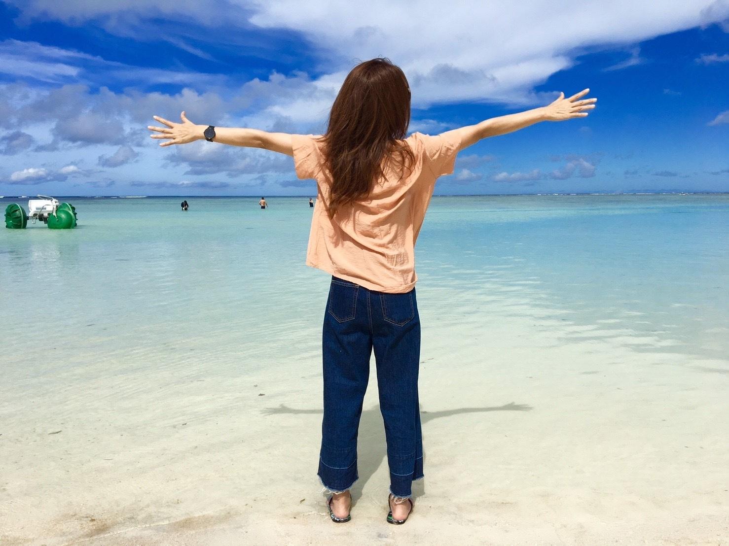 グアムの海がとってもキレイ