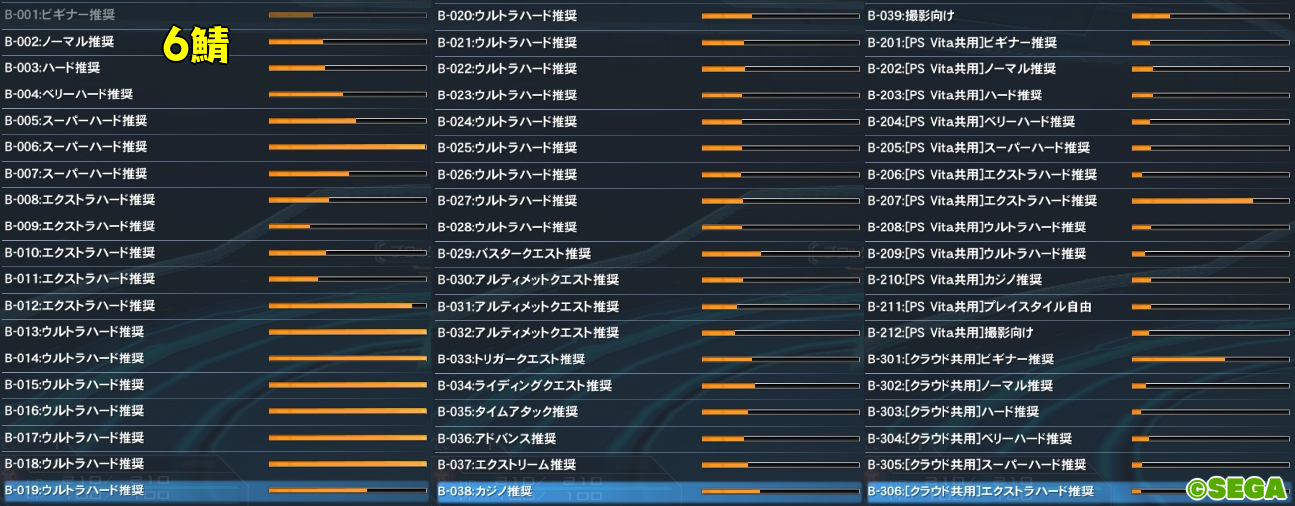 PSO2人口調査【エトワール実装日】6