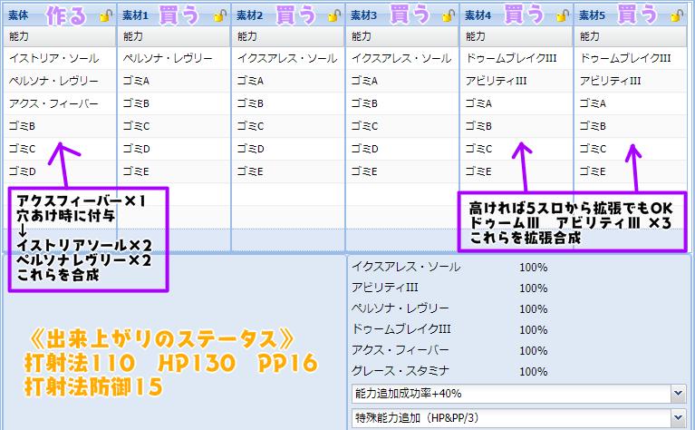 173【報酬期間】簡単!6スロ汎用ユニット(打射法110 HP115 PP16)12