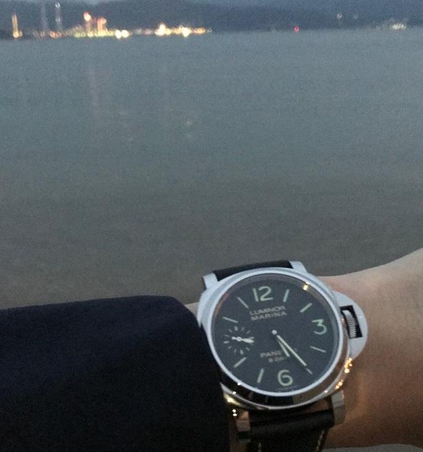パネライ(PANERAI) 機械式腕時計 ルミノール PAM00510