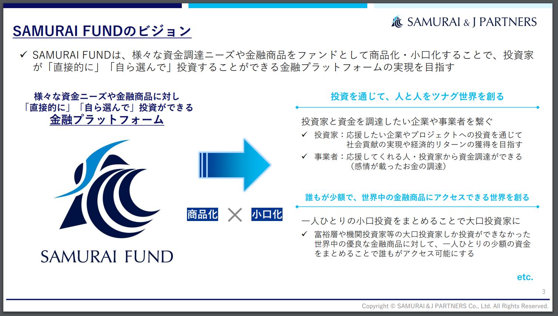 SAMURAI FUNDのビジョン