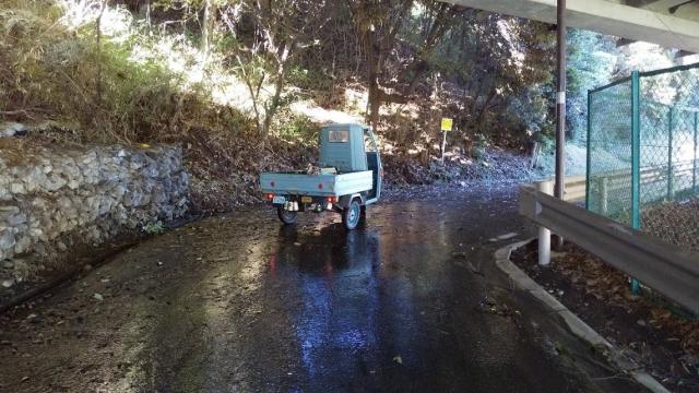 道路水浸し