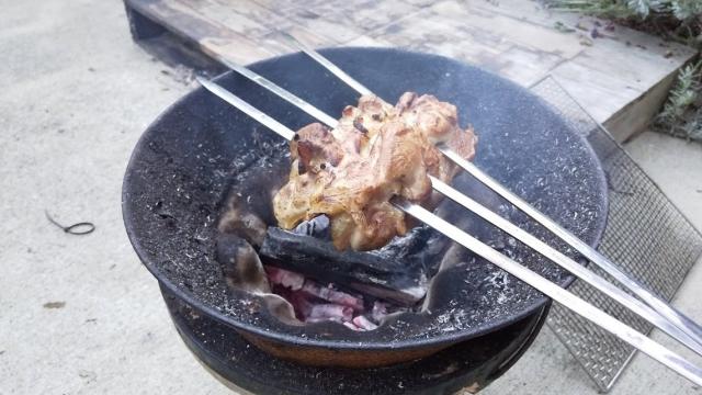 肉の丸焼き